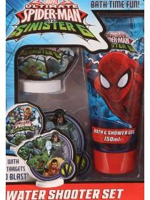 Spiderman Water Shooter Bath Set