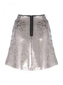 Womens Sequin Skirt