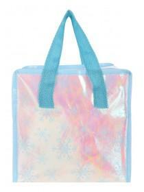 Blue Snowflake Lunch Bag