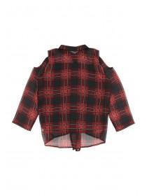 Older Girls Red Check Blouse