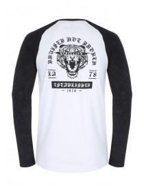 Mens Long Sleeve Graphic T-Shirt