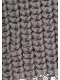 Jane Norman Grey Sequin Scarf
