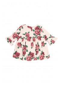 Baby Girls Rose Print Dress