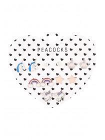 Unicorn Theme Earrings - 6 Pack