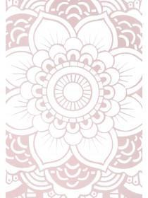 Womens Rose Gold Paisley iPhone Case