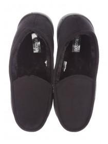 Mens Fur Lined Loafer Slippers
