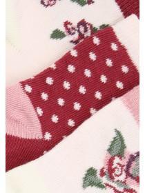 Baby Girls 3pk Rose Socks