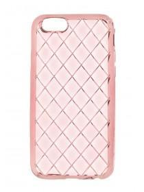 Womens Pink Quilted Phone Case