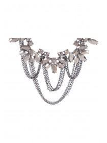 Womens Chain Statement Necklace