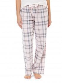 Jane Norman Pale Pink Check Pyjama Trousers