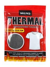 Mens Charcoal Thermal T Shirt