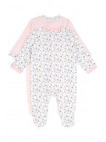 Baby Girls 2PK Floral Sleepsuits