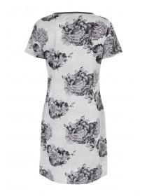 Womens Floral Nightshirt
