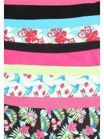Girls 5PK Black Shorts