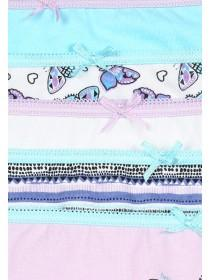 Younger Girls 5PK Lilac Briefs