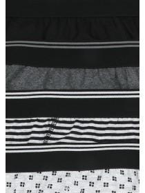 Mens 4PK Stripe Briefs
