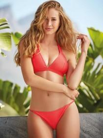 Womens Red Tanga Bikini Brief