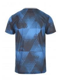 Mens Blue Short Sleeve Sublime Soccer T-Shirt