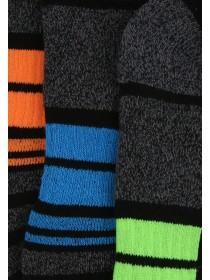 Mens 3pk Thick Performance Socks
