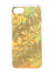 Silver Iridescent Texture iPhone Case