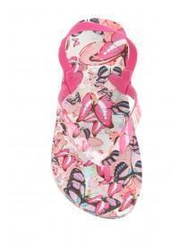Younger Girls Butterfly Flip Flops
