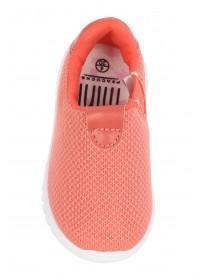 Younger Girls Pink Slip-On Runner Shoes