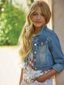 Older Girls Blue Denim Jacket