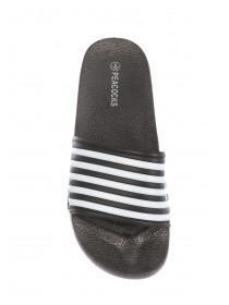 Mens Stripe Slider Sandals