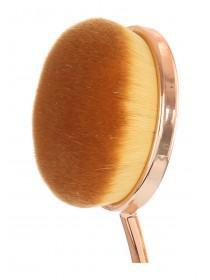 Womens Black Medium Face Make-up Brush
