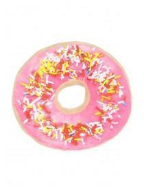 Womens Pink Doughnut Cushion