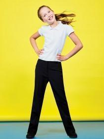 Girls Bi Stretch Trousers