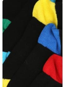 Boys 5pk Black Trainer Socks