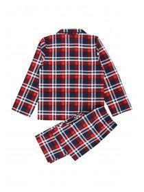 Older Boys Red Check Pyjama Set