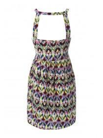 Womens Strappy Square Back Dress