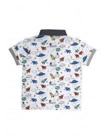 Toddler Boys Rocket Polo Shirt