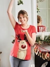 Womens Reindeer T-Shirt