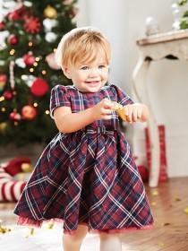 Baby Girls Tartan Dress