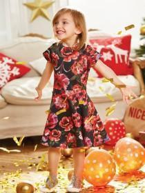 Younger Girls Floral Dress