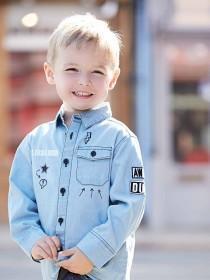 Younger Boys Badge Shirt