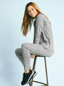 Womens Grey Sweater