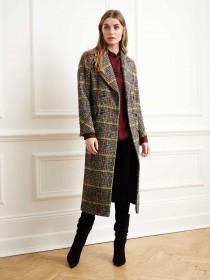Womens Check Coat