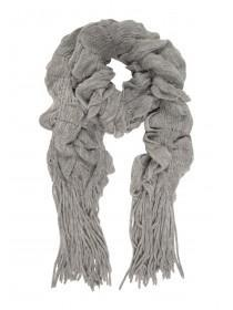 Womens Bouncy Knitted Scarf
