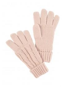 Womens Pale Pink Gloves