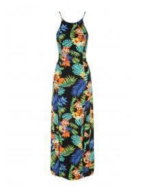 Jane Norman Tropical Print Strappy Maxi Dress