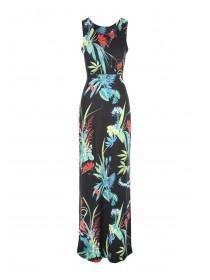 Jane Norman Tropical Print Maxi Dress