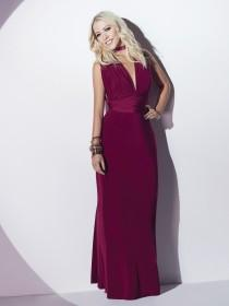 Jane Norman Cherry Red Multiway Maxi Dress