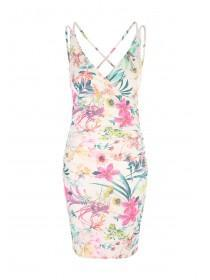 Jane Norman Floral Print Strappy Dress