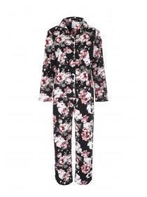 Womens Floral Pyjama Set