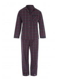Mens Check Pyjama Set