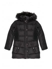 Older Girls Black Padded Coat